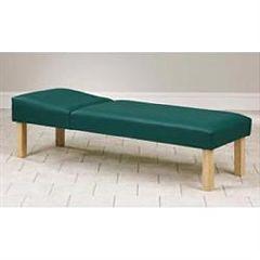"Clinton Industries Clinton Hardwood Leg Couch 24"" Wide"