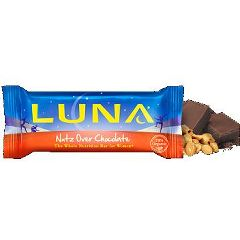 Clif Bar, Inc. Luna Nutrition Bar For Women - Nutz Over Chocolate