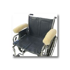 Sheepskin Ranch Medical Sheepskin Wheelchair Arm Rests - Full Arm Rests Only