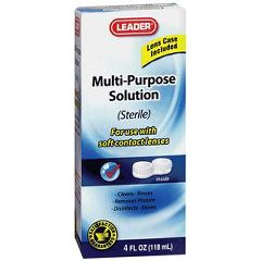 Cardinal Health Leader Contact Multi-Purpose Lens Solution