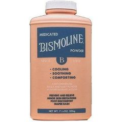 Bismoline Medicated Powder - 7 1/4 oz