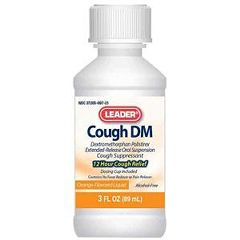 Cardinal Health Leader Cough DM Orange Liquid