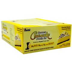 Advance Nutrient Science Advanced Nutrient Science INTL Gourmet Cheesecake Protein Bar - Chocolate Banana