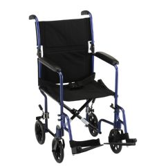 Nova Comet 327 17 inch Lightweight Transport Wheelchair