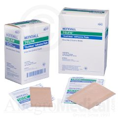 "TELFA ""Ouchless"" Adherent Dressings  - 2"" x 3"" - White"