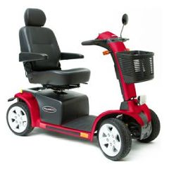 Pride Mobility Pursuit 4 Wheel Mobility Scooter
