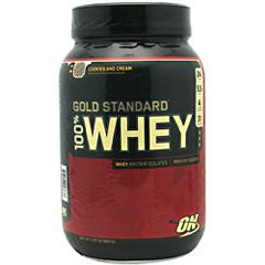 Optimum Nutrition 100% Whey, Instantized, Cookies N' Cream - 2 lbs