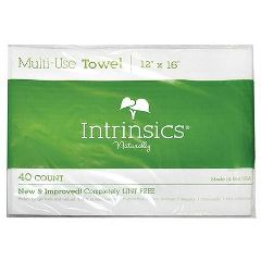 "Intrinsics Multi-Use Towel 12"" X 16"" 40 Count"