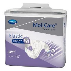 MoliCare® Premium Elastic 8D Small Disposable Heavy Absorbency Brief