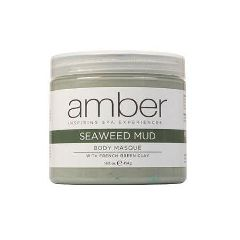 Amber Masque Mud Seaweed & French Green Clay, 16Oz