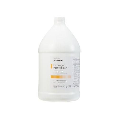 McKesson Hydrogen Peroxide 3% - 1 Gallon Model 025 5047