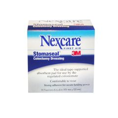 """NEXCARE Stomaseal Colostomy Dressing - 4 x 4"""""""