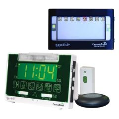 Serene Innovations CentralAlert CA-360 Alarm Clock with Remote Receiver