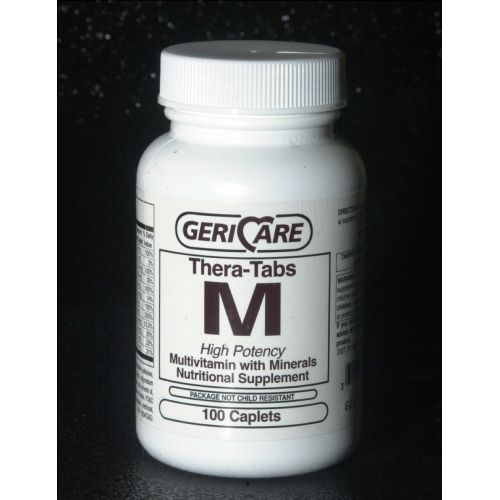 McKesson Gericare Theratabs M Multivitamin Supplement with Minerals