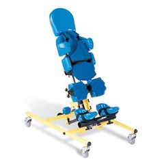 Three-in-One TriStander® Positioner from Tumble Forms® Tristander 45 (yellow frame)