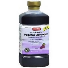 Cardinal Health Leader Pediatric Electrolyte Grape Solution