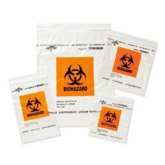 Medline Zip-Style Biohazard Specimen Bags