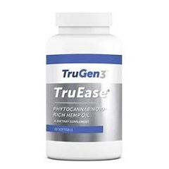 TruGen3 TruEase Phytocannabinoid-Rich Hemp Oil – 30 Soft Gels