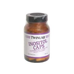 Twin Laboratories Inositol Caps, 500 Mg - 100 capsules
