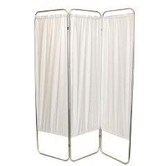Fabrication King Size 3-Panel Privacy Screen