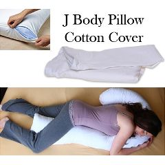 Deluxe Comfort Replacement Cover - J Body Pillow