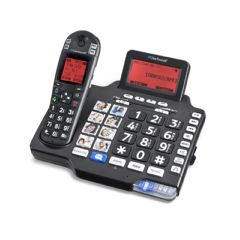Clear Sounds Dect Amplified Deluxe Phone With Bt