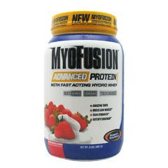 Gaspari Nutrition MyoFusion Advanced Protein - Strawberries & Cream
