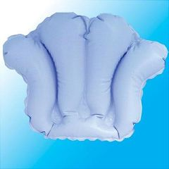 AB Marketers LLC Inflatable Bath Pillow with Suction Cups