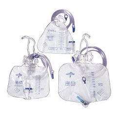 Medline Urinary Drain Bags with Anti-Reflux Tower
