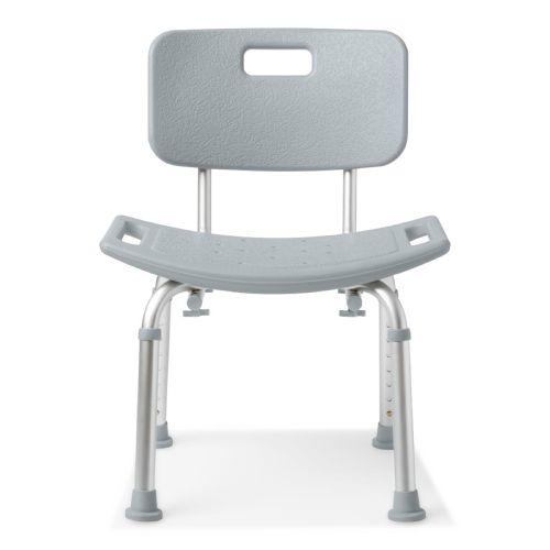 Medline Aluminum Bath Bench With Back Model 179 585822 01