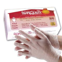Tranquility Powder Free Vinyl Exam Gloves