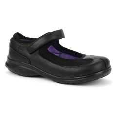 Oasis Footwear Oasis Women's Lona Black Diabetic Shoe
