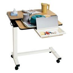 Medline Split Top Overbed Table