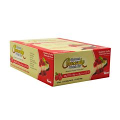 Advance Nutrient Science Advanced Nutrient Science INTL Gourmet Cheesecake Protein Bar - Raspberry Truffle Cheesecake Flavor