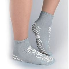 Pillow Paws Double-Imprint Terries Slipper Socks