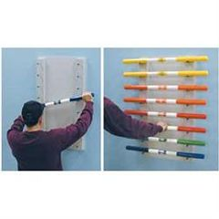 Clinton Industries Wall Mount Ladder Bar Rac
