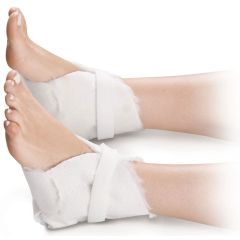 Medline Synthetic Fur Lined Heel Protectors