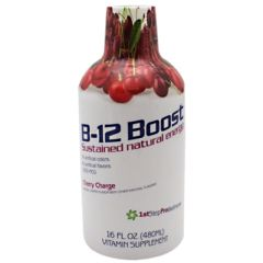 1st Step for Energy B12 - Cherry Charge