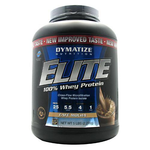 Elite Dymatize Elite 100% Whey Protein - Cafe Mocha Model 171 584243 01