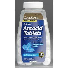 GoodSense Regular Strength Antacid Tablets