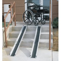 Mabis DMI 5' Telescoping Adjustable Wheelchair Ramps