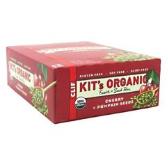 Kit's Organic Clif Kit's Organic Fruit + Seed Bar - Cherry + Pumpkin Seed