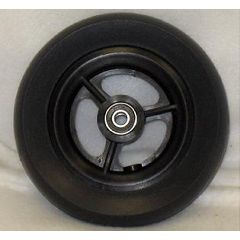 "New Solutions 3 Spoke Urethane Wheel - 6 x 1 1/2"" (Wide)"
