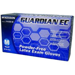 Guardian EC McKesson GUARDIAN EC Powder-Free Latex Exam Gloves - Medium
