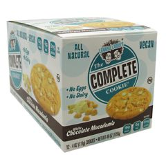 Lenny & Larry's All-Natural Complete Cookie - White Chocolate Macadamia