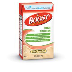 BOOST® High Protein Drink, Vanilla - Complete Nutritional Drink - 8 fl oz