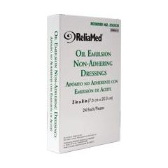 """Invacare Reliamed Oil Emulsion Dressing - 3 x 8"""""""