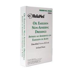 "Reliamed Oil Emulsion Dressing - 3 x 8"""