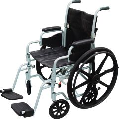 Drive Medical Poly-Fly Wheelchair / Transport Chair Combo
