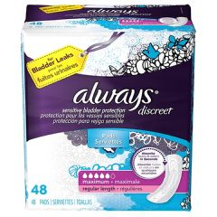 Always Discreet Maximum Regular Incontience Liner